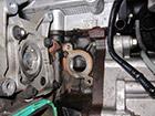 BMW MINI クーパーS 水漏れ