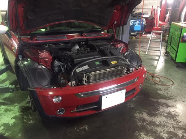 BMW ミニ 足廻り異音修理
