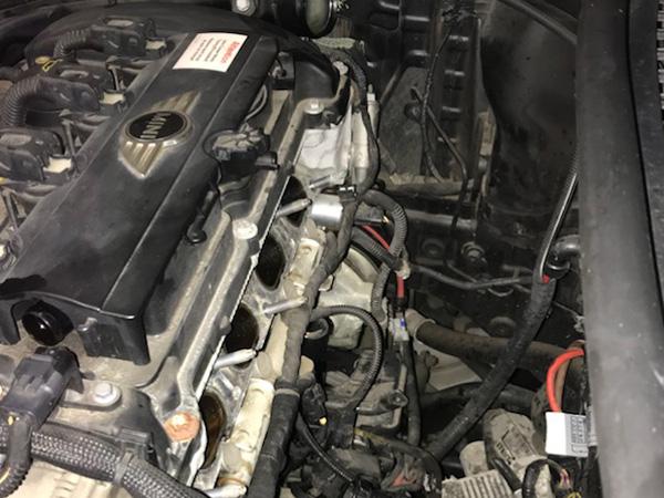 クーパーS 冷却水が減る修理