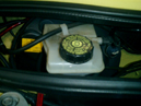 mini車検、ブレーキ・バッテリーの液量点検