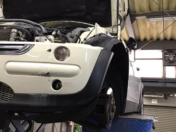 BMW MINI R50法定12カ月点検