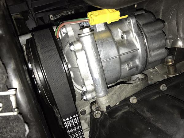 MINIクーパーS 冷たい風が出ない修理
