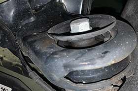 MINI クーパー 足回り点検修理